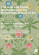 The Arts and Crafts Movement and the Manchester School of Art poster