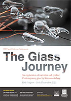 Glass Journey exhibition poster