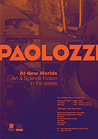 Paolozzi exhibition poster